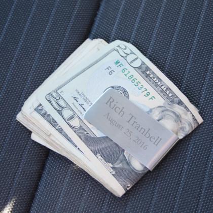 Custom Zippo Money Clip