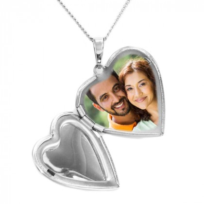 Custom Engraved Heart Locket