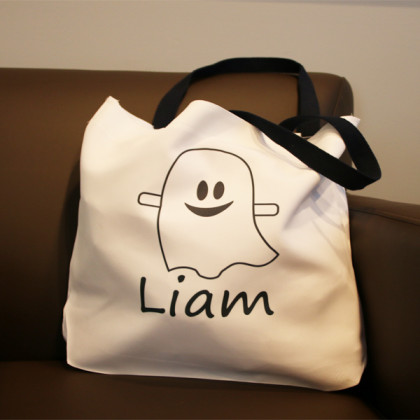 Personalized Trick or Treat Bags for Kids