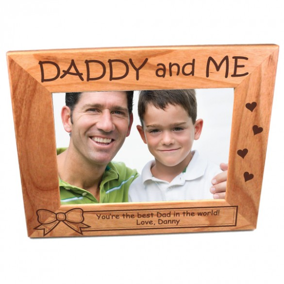 Father and Child Photo Frame-5 x 7