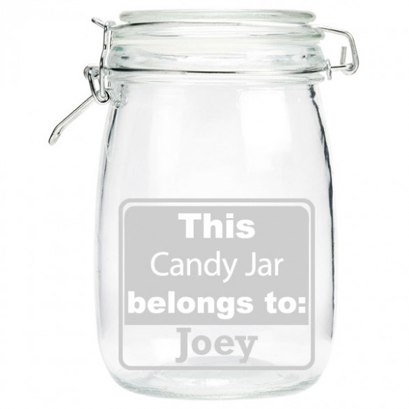 personalized candy jar forallgifts
