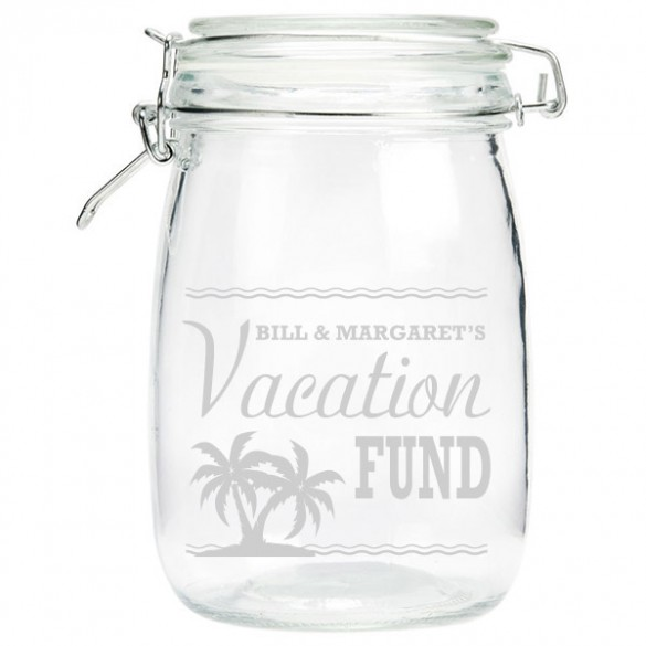 Personalized Vacation Money Jar ForAllGifts