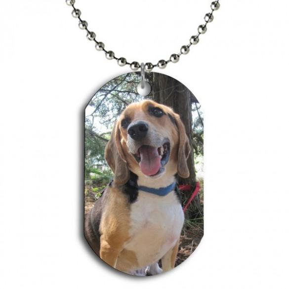 Customized Color Photo Dog Tag Pendant