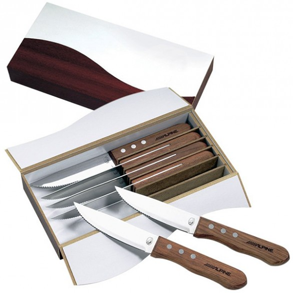 Niagara Cutlery Personalized Steak Knife Set Forallgifts