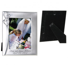 Two-Tone Heart Frame-Couples Gifts