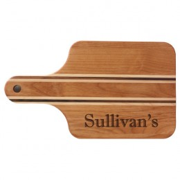 Personalized Deluxe Alder Cutting Board