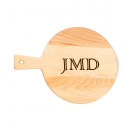 Small Serving Maple Cutting Board with Monogram
