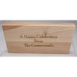 Vermont Ash Cutting Board with Personalized For Couples