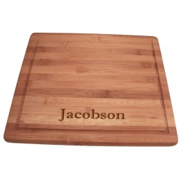 Bamboo Cutting Board Gift-Great for Moms & Brides