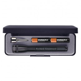 Engraved Black MagLite Flashlight Gift Set