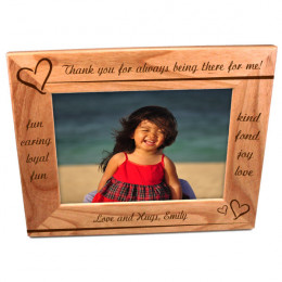 Personalized Wood Frame for Mom-Two Custom Lines