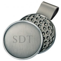 Golf Lovers Engraved Golf Ball Marker Hat Clip
