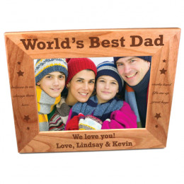 Personalized Dad Frame for 5 x 7 Photo