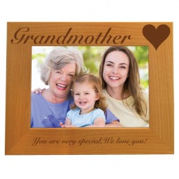 Grandmother Personalized Photo Frame 5 x 7