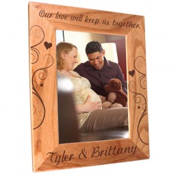 Love 5 x 7 Wood Photo Frame