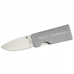 Personalized Steel Pocket Knife Money C