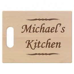Chef's Premium Maple Cutting Board with Handle