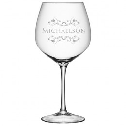 Oversized Wine Glass with Name - 27.5 oz