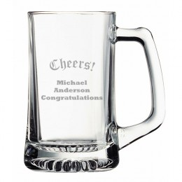 Cheers! Personalized Beer Mug 15oz