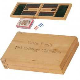 Personalized Cribbage Game Set