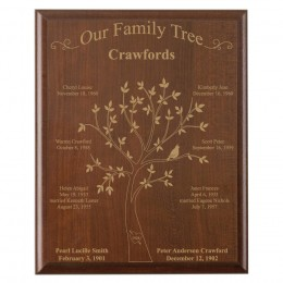 create your own family tree wall plaque forallgifts