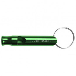 Green Whistle Key Ring