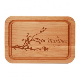 Reaching Branch Family Personalized Cutting Board