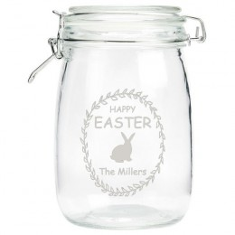 Personalized Family Easter Candy Mason Jar