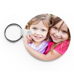 Personalized Round Photo Keychain