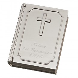 Engraved Keepsake Box with Cross
