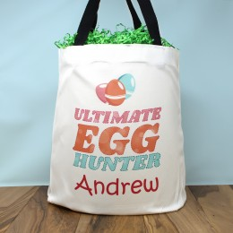 Ultimate Egg Hunter Personalized Easter Tote