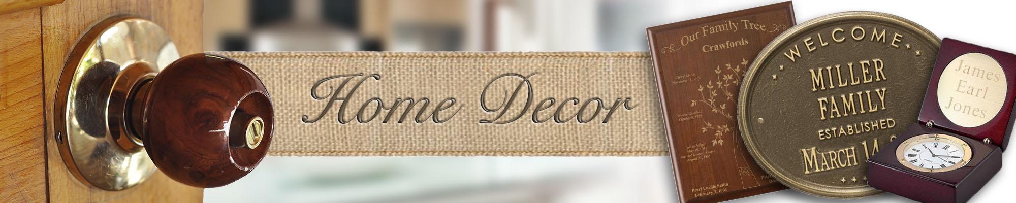 Personalized Home Decor