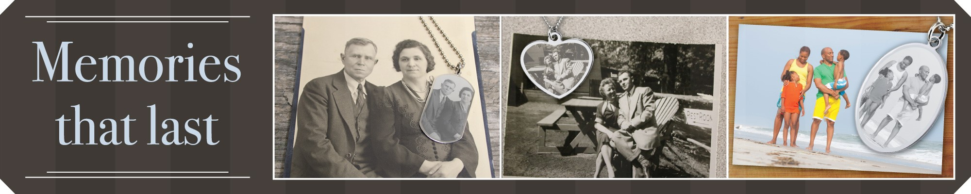 Picture Necklaces, Photo Necklaces and Photo Engraved Jewelry